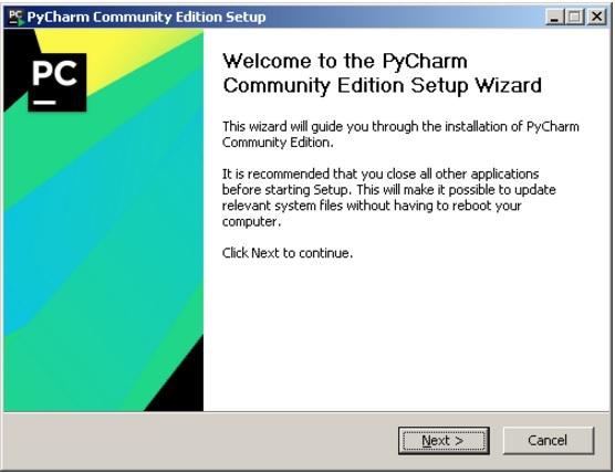 Установка PyCharm