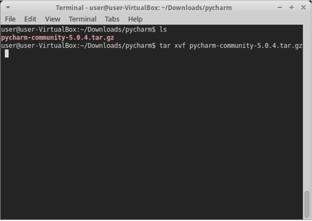 Установка PyCharm в Linux