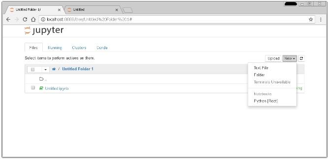 Anaconda в браузере
