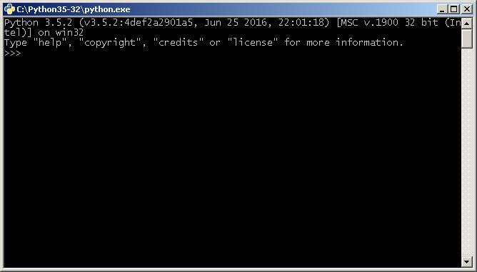 Python в интерактивном режиме