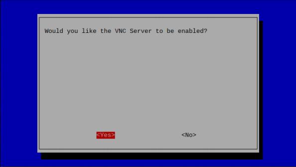 raspi-config -> vnc -> enable