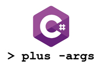 Work with args in C#